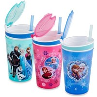 "Disney ""Frozen"" Snackeez™ All-In-One Go Anywhere Snacking Solution"