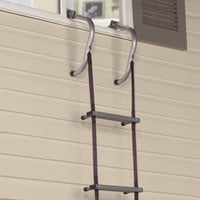 The Easy Deploy Fire Escape Ladder - Hammacher Schlemmer