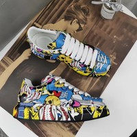 Alexander Mcqueen Graffiti Oversized Sneakers Reference #4 - Best Online Sale