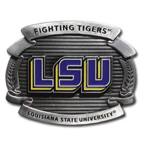 LSU Tigers NCAA Oversized Belt Buckle