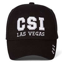 Law Enforcement CSI Las Vegas Black Adjustable Hat