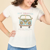 Tune Traveler Cotton T-Shirt | Mod Retro Vintage Sweaters | ModCloth.com