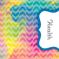 Back to School! Swirly Paint Binder Dividers - Health Class