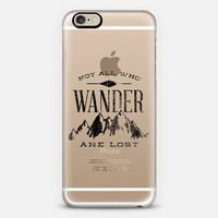 Not All Who Wander are Lost iPhone 6 case by Zeke Tucker   Casetify