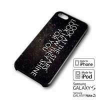 Coldplay the scientist quotes iPhone case 4/4s, 5S, 5C, 6, 6 +, Samsung Galaxy case S3, S4, S5, Galaxy Note Case 2,3,4, iPod Touch case 4th, 5th, HTC One Case M7/M8