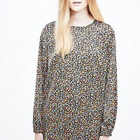 Urban Renewal Vintage Remnants Boho Swing Dress in Floral - Urban Outfitters