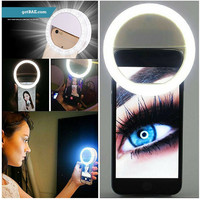 Celfie ME - Portable LED Lighting Ring for all smart phone cameras