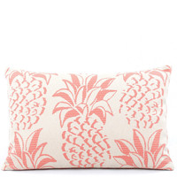 Pineapple Grove Throw Pillow