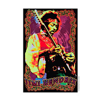 Jimi Hendrix - Psychedelic Solo Black Light Poster on Sale for $11.95 at HippieShop.com