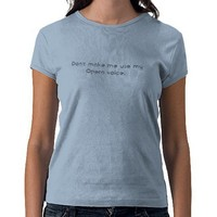 Opera voice t shirts from Zazzle.com