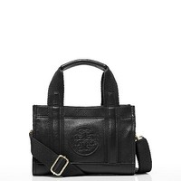 Leather Tiny Tory Tote