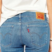 Levis Innovation Mid Rise Super Skinny Jeans