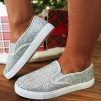 Cold As Ice Sneakers: Silver