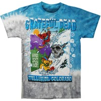 Grateful Dead Men's  Bear Mountain Tie Dye T-shirt Multi