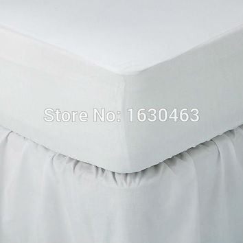 Size 180X200cm Cheapest Smooth Waterproof Mattress Protector Cover For Bed Wetting breathable Hypoallergenic Anti-mite