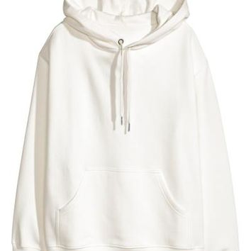 Hooded top - White - Ladies | H&M GB
