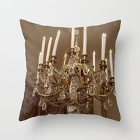 Chandelier Throw Pillow by Pati Designs
