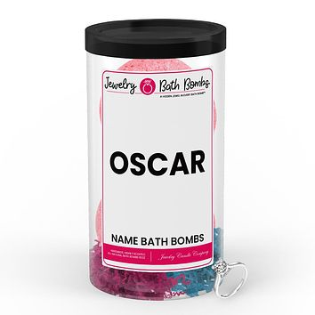 OSCAR  Name Jewelry Bath Bomb Tube