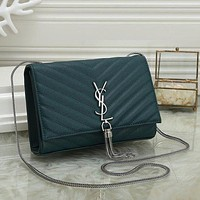 YSL Yves Saint laurent Fashion Leather Handbag Crossbody Shoulder Bag