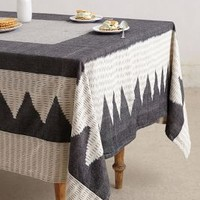 Odemira Tabecloth by Anthropologie Grey Motif 72 X 90     House & Home