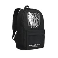 Cool Attack on Titan Zshop Cool Backpacks for Teenage Boys  Japan Anime School Bags Eren Jaeger Bookbags High School Students AT_90_11