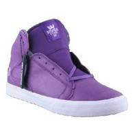 Supra Society Mid Majestic Purple/White Shoe Guys Shoes