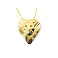 Leo pendant necklace