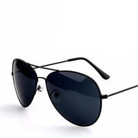 Classic Aviator Mirrored Lens Sunglass