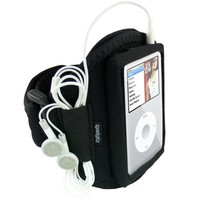 igadgitz Water Resistant Neoprene Sports Gym Jogging Armband for Apple iPod Classic 80 GB, 120 GB an