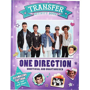 River Island Womens One Direction activity book