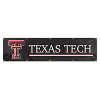 Texas Tech Red Raiders NCAA Applique & Embroidered Party Banner (96x24)