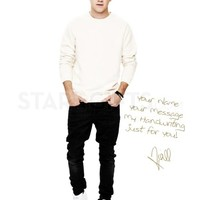 Niall Horan One Direction Colour Personalised Poster | StarGifts.com