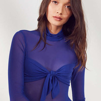 Out From Under Charlotte Tie Mesh Bodysuit | Urban Outfitters