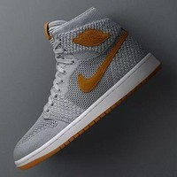 Trendsetter Air Jordan 1 Flyknit Men Casual  Sneakers Sport Shoes