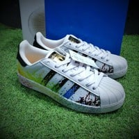 Best Online Sale Adidas Superstar LGBT Pride Month Gay Pride Pack Casual Shoes Sport Shoes D70351