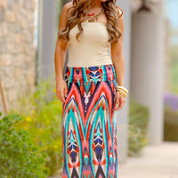 Still The One Maxi Skirt - Coral (S to 3XL)
