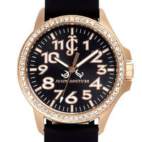 Juicy Couture 'Jetsetter' Silicone Strap Watch   Nordstrom