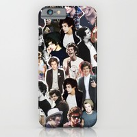 Harry Styles - Collage iPhone & iPod Case by Pepe The Frog