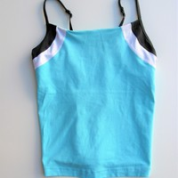 Lululemon Color Block Yoga Workout Cami Tank Top S