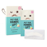 [Etude House] Put Your Hands Up Face Waxing Patch (10 Patches)