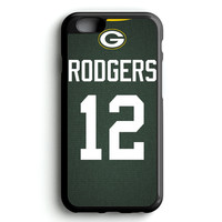 Aaron Rodgers Jersey iPhone 4s iphone 5s iphone 5c iphone 6 Plus Case | iPod Touch 4 iPod Touch 5 Case