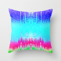 Surf Throw Pillow by M Studio