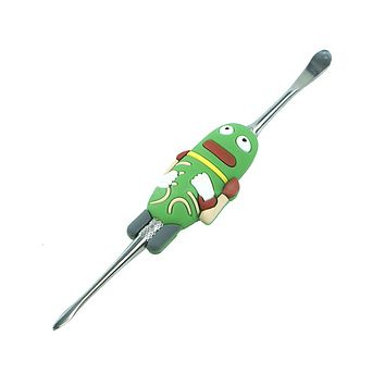 Silicone Character Dab Tool - Marching Pickle