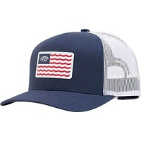 Canton Trucker Hat in Navy by AFTCO