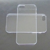 DIY Crystal Clear Hard Snap-on Cover Case for Apple Iphone 5 --- By Pixiheart