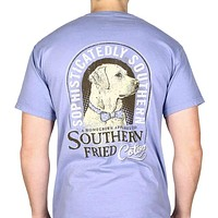 Preppy Boy Short Sleeve Tee Shirt in Washed Denim by Southern Fried Cotton