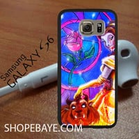 Beauty and the Beast Rose Glass Case 2 For galaxy S6, Iphone 4/4s, iPhone 5/5s, iPhone 5C, iphone 6/6 plus, ipad,ipod,galaxy case