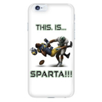 Michigan State Spartans This Is Sparta iPhone 6 Plus & 6S Plus White Cellphone Case