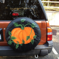 Custom painted spare tire covers - made to order!