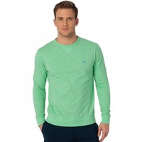 Upper Deck Slub Knit Pullover in Starboard by Southern Tide